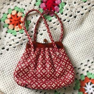 Vintage Tortoise Shell Lucite Mini Handbag